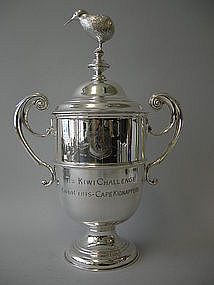 Kiwi Trophy Engraved By Nelson And Nelson