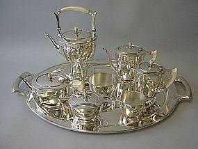 Tiffany & CO Sterling ST DUNSTAN Coffee Service C 1906