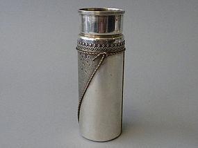 Antique Gorham and Mixed Metals Vase Circa 1878