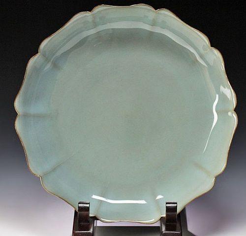Shinobu Kawase Celadon ceramic basin bowl