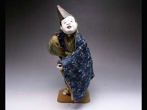 antique Japanese doll samurai dolls