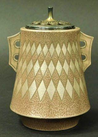 Tadao Kato Silver Jungin Metalwork Koro incense Burner Japanese