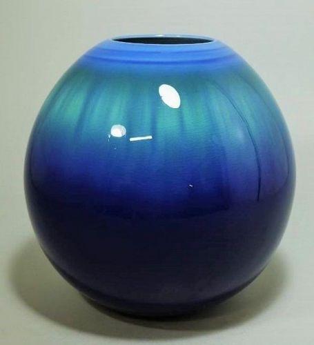 Yasokichi Tokuda Kutani porcelain ceramic Flower vase
