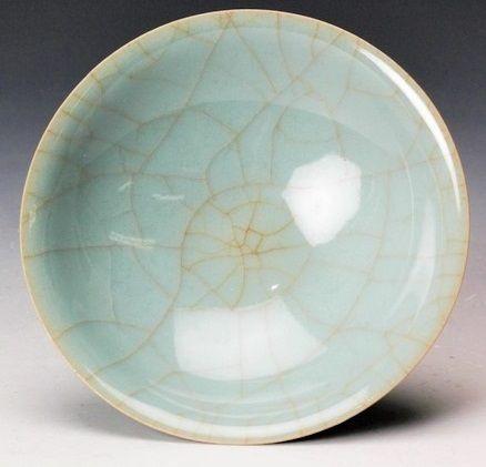 Shinobu Kawase celadon porcelain sake cup Japanese pottery