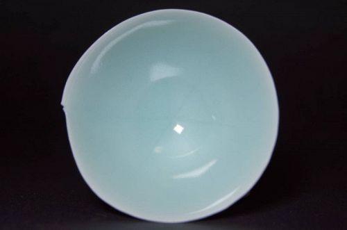 Sueharu Fukami Celadon Porcelain Sake Cup Sakazuki Guinomi cups vessel