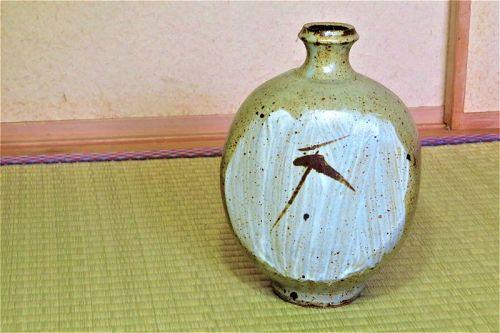 Shimaoka Tatsuzo Ceramic Flower Vase Japanese Pottery Jar vases