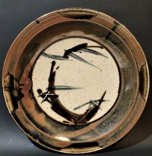 Totaro Sakuma Mashiko Ceramic Charger Plate Japanese pottery