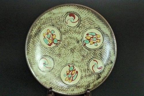 Tatsuzo Shimaoka Cearmic Charger plate Japanese pottery