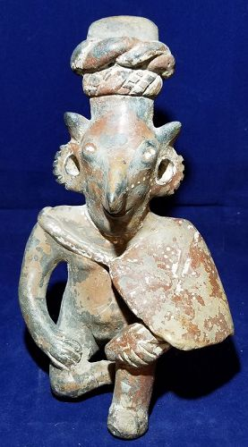 PRECOLUMBIAN JALISCO SHEEPFACE FIGURE