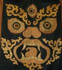 EXCEEDINGLY RARE AND POWERFUL TIBETAN RITUAL TANTRIC DANCE APRON