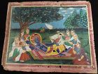 19th CENTURY NEPALESE HINDU PAINTING OF KRISHNA