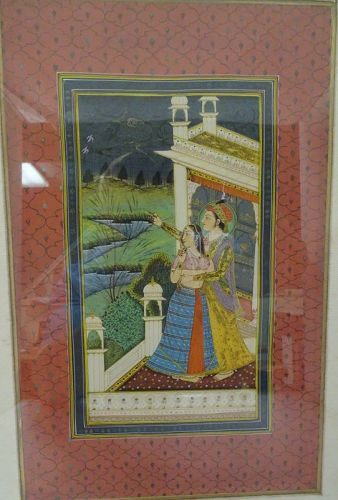 INDO-PERSIAN ISLAMIC MINIATURE PAINTING