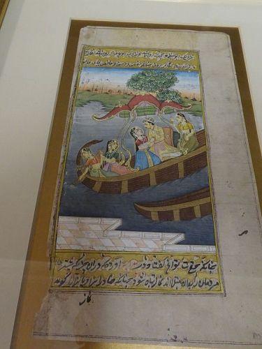 INDO-PERSIAN ISLAMIC MINIATURE PAINTING #2