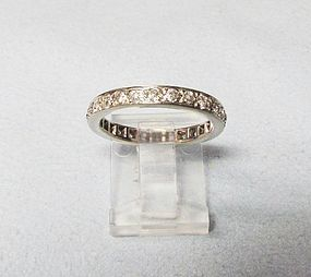 Diamond Eternity Band with Old-mine Diamonds