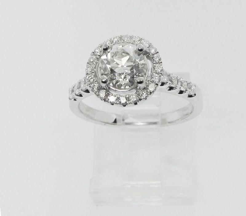 Old Mine Diamond Engagement Ring