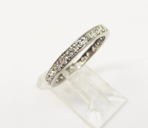 Diamond Eternity Band set in Platinum