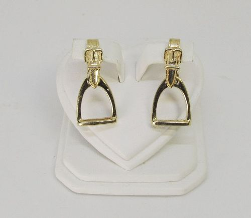 Stirrup Earrings 14Kt Gold