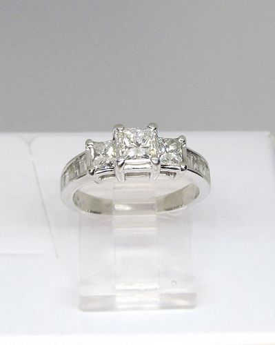 Diamond Engagement Ring Princess Cut