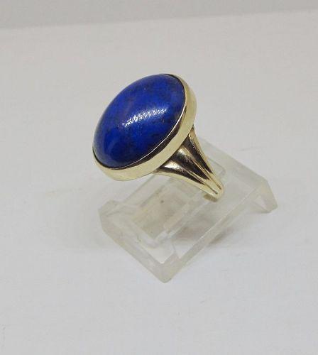 Lapis Ring 14Kt Gold