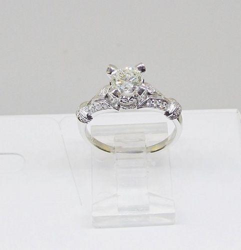 Diamond Engagement Ring 18Kt Gold