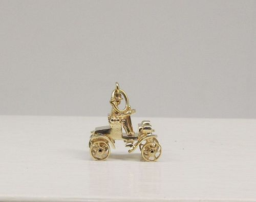 Antique Car Ford Model A Made of 14Kt Gold