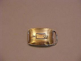 Tiffany & Co. 14 Karat Gold Belt Buckle