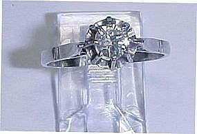 Diamond Solitaire in Platinum Setting