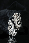 VINTAGE MEXICAN Silver QUETZALCOATL by pass RING