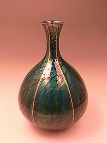 JAPANESE MID 20TH PORCELAIN VASE BY ONO HAKUKO