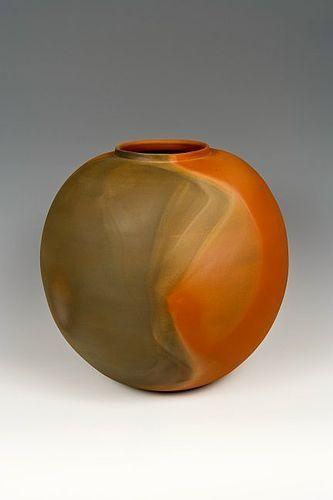 Japanese L. 20th-E. 21st Century Lg LNT ITO SEKISUI Mumyo-Ware Vase