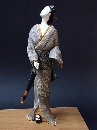 Japanese 20th C. Doll by Naoko