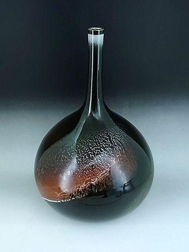 Japanese L. 20th Century Porcelain Vase by Sadamatsu Zenji
