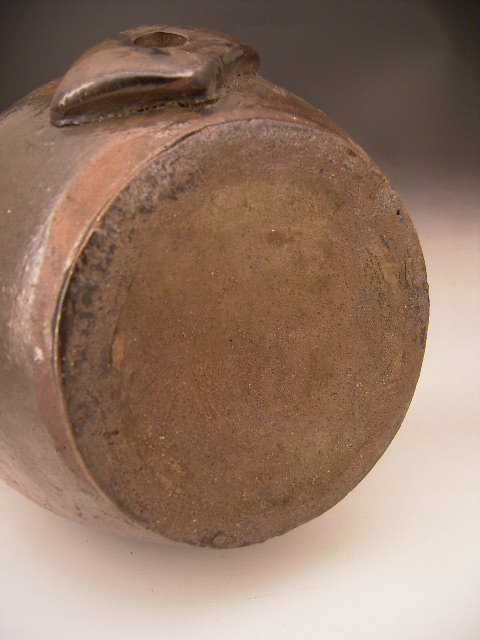 Japanese Early 20th Century Ceramic Sake Bottle