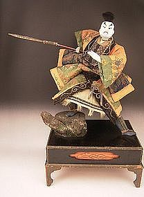 Japanese Late Edo - Early Meiji Period Takeda Doll