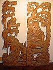 Japanese 19th Century Carved Gama  Sennin Ranma