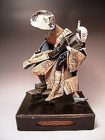 Japanese L. Edo -  E. Meiji Period Takeda Doll