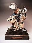 Japanese L. Edo -  E. Meiji Period Takeda Doll