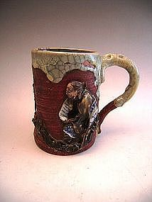 Japanese Early 20th Century Sumidagawa Mug