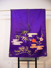 Japanese Late 19th Century Sleeve From Stage Costume