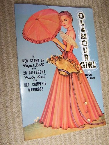 Glamour Girl: A New Stand Up Paper Doll by Queen Holden 1985