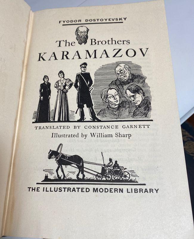 The Brothers Karamazov Hardcover – January 1, 1943 Fyodor Dostoyevsky