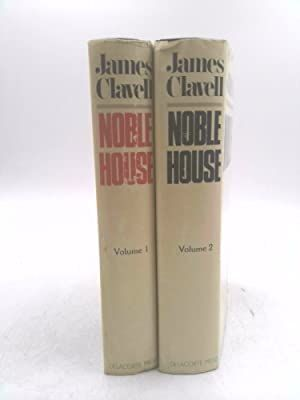 Noble House  Novel of Contemporary Hong Kong Vol I & 2  James Clavell