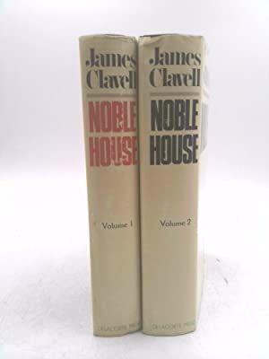 Noble House  Novel of Contemporary Hong Kong Vol I & 2  James Clavell