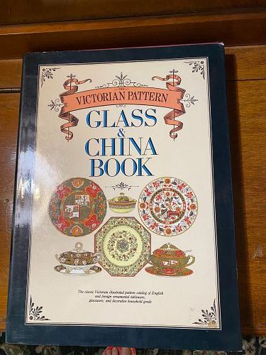 Victorian Pattern Glass & China Book by Fleming