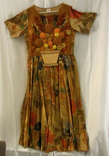 Couture Vintage Clothing Hand Made Artwear Dress Fashion