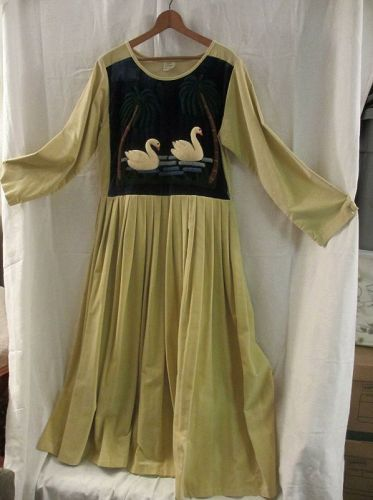 Hand Made Couture  Vintage Clothing  Dress