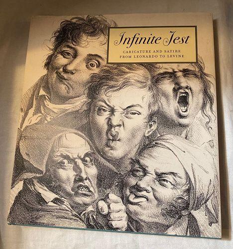 Infinite Jest: Caricature from Leonardo to Levine  by McPhee
