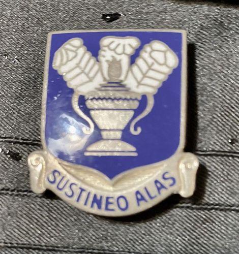 Sustineo Alas Pin Back Enamel Sterling