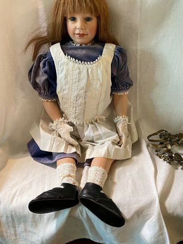 "Retired Vinyl Gadco Great American Doll Co 28"" Laura #117/1000"