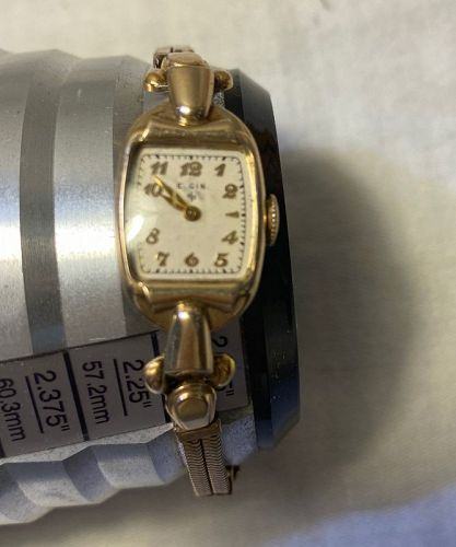 Vintage Ladies Elgin GF Endomatic Wrist Watch